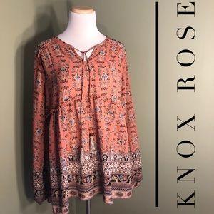 XXL Knox Rose gossamer blouse.